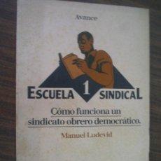 Libros de segunda mano: CÓMO FUNCIONA UN SINDICATO OBRERO DEMOCRÁTICO. LUDEVID, MANUEL. 1977. Lote 23259010