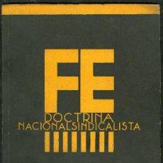 Libros de segunda mano: ANTIGUO LIBRO **DOCTRINA NACIONALSINDICALISTA** Nº 3 FALANGE ESPAÑOLA AÑO 1937 . Lote 24453842