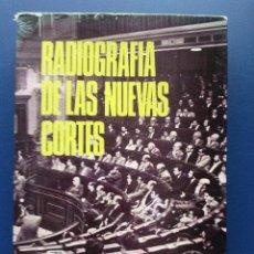 Libros de segunda mano: RADIOGRAFIA DE LAS NUEVAS CORTES - EDICIONES SEDMAY - PRIMERA EDICION 1977. Lote 25577309