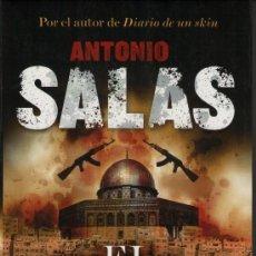 Libros de segunda mano: EL PALESTINO, DE ANTONIO SALAS. ED. PLANETA, 2010. ANTONIO SALAS.. Lote 27198939