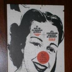 Libros de segunda mano: EL ARTE DE LA MENTIRA POLÍTICA POR J. SWIFT / ¿ES CONVENIENTE ENGAÑAR AL PUEBLO? POR N. DE CONDORCET. Lote 27835824