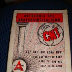 Libros de segunda mano: (75) ANTOLOGIA DEL ANARCOSINDICALISMO. Lote 29165052