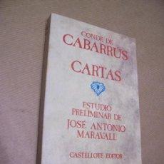 Libros de segunda mano: CONDE DE CABARRÚS - CASTELLOTE, EDITOR 1973. Lote 72942481