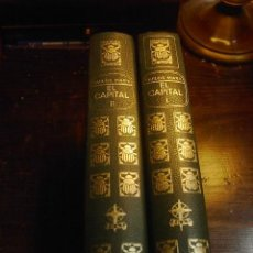 Libros de segunda mano: CARLOS MARX, EL CAPITAL, CRITICA DE LA ECONOMIA POLITICA, 2 TOMOS, EDAF, 1970. Lote 29676717