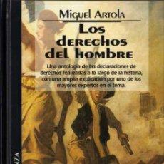 Libros de segunda mano: MIGUEL ARTOLA - LOS DERECHOS DEL HOMBRE - BIB. TEM. ALIANZA Nº 41 - DEL PRADO - 1994. Lote 29790187