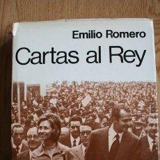 Libros de segunda mano: CARTAS AL REY. ROMERO (EMILIO). Lote 29901879