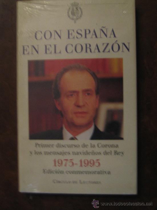 CON ESPAÑA EN EL CORAZÓN, CIRCULO DE LECTORES (Libros de Segunda Mano - Pensamiento - Política)