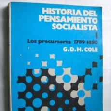 Libros de segunda mano: HISTORIA DEL PENSAMIENTO SOCIALISTA (7 VOLÚMENES). COLE, G.D.H. 1975. Lote 30132235