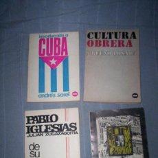 Libros de segunda mano: OPOSICION ANTIFRANQUISTA - AÑOS 60 - 2 TOMOS - COMUNISMO, CUBA, CULTURA OBRERA. Lote 30234824
