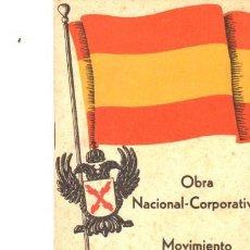 Libros de segunda mano: OBRA NACIONAL CORPORATIVA, MOVIMIENTO NACIONAL AGRARIO,NAVARRO Y DEL TESO,S.SEBASTIÁN,32 PÁGS,12X17C. Lote 34178689