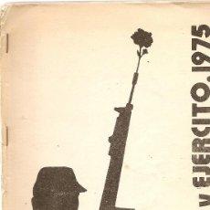Libros de segunda mano: PUEBLO Y EJÉRCITO, 1975. Lote 34648957