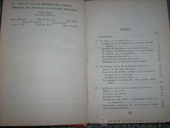 Libros de segunda mano: LA UERZA DE LA IDEA DEMOCRATICA (Informe Fondo Hermanos Rockefeller) - México - 1964 - RARO! - Foto 2 - 35223379