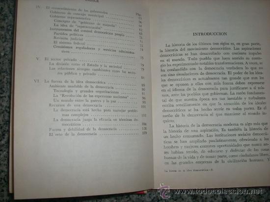 Libros de segunda mano: LA UERZA DE LA IDEA DEMOCRATICA (Informe Fondo Hermanos Rockefeller) - México - 1964 - RARO! - Foto 3 - 35223379