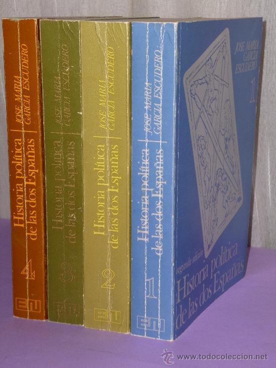 Libros de segunda mano: HISTORIA POLITICA DE LAS DOS ESPAÑAS.(cuatro tomos, obra completa) - Foto 2 - 35477745
