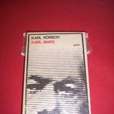 Libros de segunda mano: KORSCH, KARL - KARL MARX. Lote 35719653