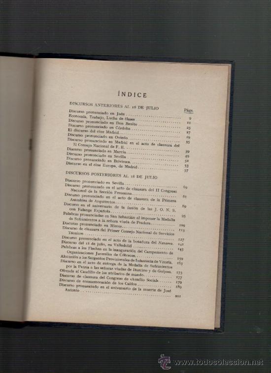 Libros de segunda mano: raimundo fernandez cuesta discursos ediciones fe 1939 - Foto 2 - 35732794