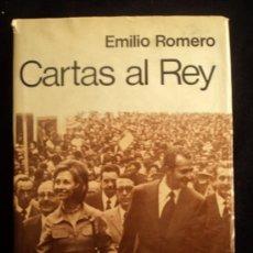 Libros de segunda mano: CARTAS AL REY. EMILIO ROMERO. PLANETA. 1974 PAG 396 PAG. Lote 35765077
