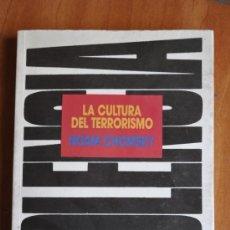 Libros de segunda mano: LA CULTURA DEL TERRORISMO - NOAM CHOMSKY. Lote 36186809
