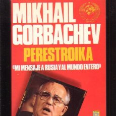 Libros de segunda mano: PERESTROIKA / AUTOR: MIKHAIL GORBACHEV. Lote 36387636