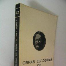 Libros de segunda mano: OBRAS ESCOGIDAS DE LEON TROTSKY TOMO I ,1976,FUNDAMENTOS ED, REF MARX. Lote 39536447