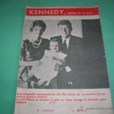 Libros de segunda mano: LIBRITO KENNEDY,HÉROE DE LA PAZ. Lote 39816072