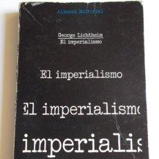 Livros em segunda mão: EL IMPERIALISMO POR GEORGE LICHTHEIM.. Lote 89230464