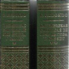 Libros de segunda mano: LAS EMPRESAS POLÍTICAS DE JOSÉ ORTEGA Y GASSET. 2 TOMOS. EDI. RIAL. MADRID. 1970. Lote 41282254