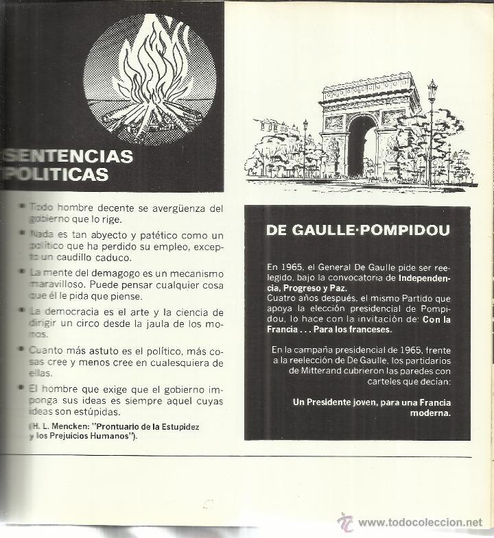 Libros de segunda mano: PROPAGANDA POLÍTICA. EULALIO FERRER RODRÍGUEZ. ED. DANAE. BARCELONA. 1976 - Foto 4 - 41586210