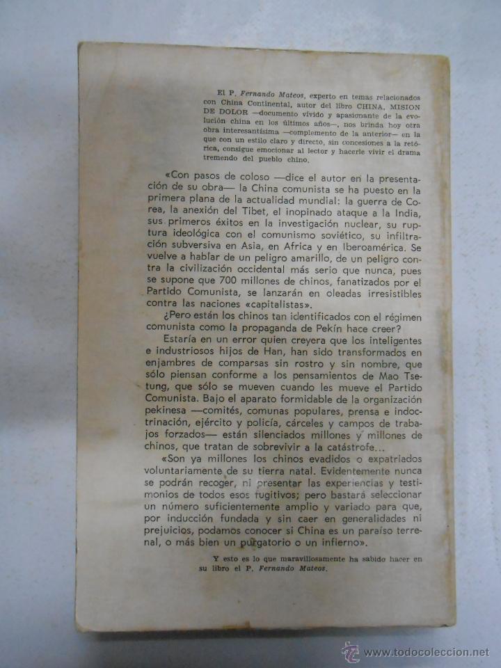 Libros de segunda mano: CHINA OPERACIÓN FUGA. MATEOS, Fernando. TDK177 - Foto 2 - 42519593