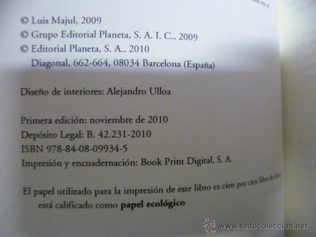 Libros de segunda mano: El Dueño - Luis Majul - Planeta - 1ª ed. 2010 - 517 pag. - Foto 2 - 42551841