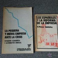 Libros de segunda mano: LOTE EMPRESA ESPAÑOLA. Lote 42924685