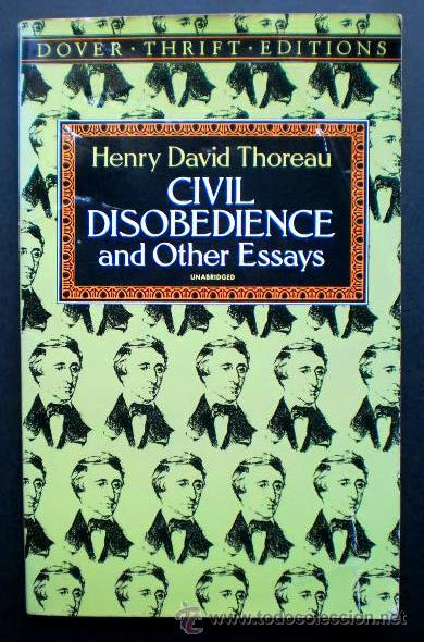 Henry David Thoreau Civil Disobedience And Oth  Comprar Libros De  Henry David Thoreau Civil Disobedience And Other Essays Dover Publ