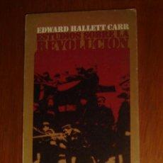 Libros de segunda mano: ESTUDIOS SOBRE LA REVOLUCIÓN, DE EDWARD HALLETT CARR. ALIANZA, 1970. Lote 44189754