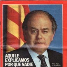 Libros de segunda mano: PROGRAMA ELECTORAL DE CONVERGENCIA I UNIÓ - CIU - JORDI PUJOL - AÑO 1982.. Lote 44788195