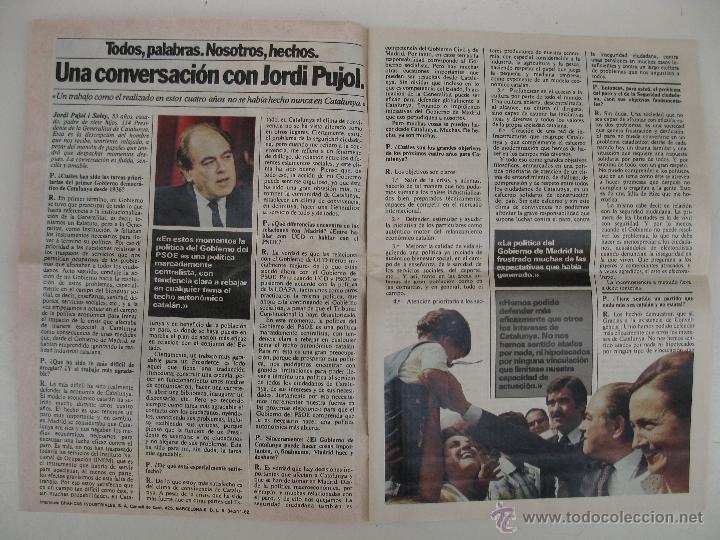Libros de segunda mano: PROGRAMA ELECTORAL DE CONVERGENCIA I UNIÓ - CIU - JORDI PUJOL - AÑO 1982. - Foto 2 - 44788195