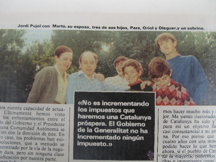 Libros de segunda mano: PROGRAMA ELECTORAL DE CONVERGENCIA I UNIÓ - CIU - JORDI PUJOL - AÑO 1982. - Foto 4 - 44788195