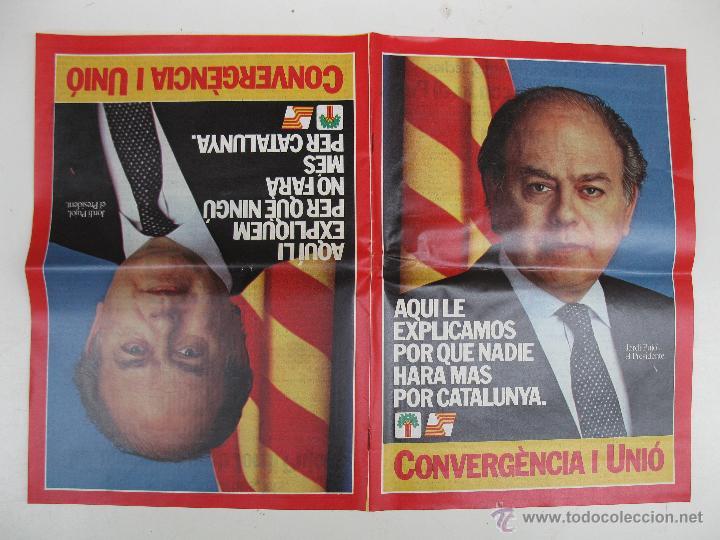 Libros de segunda mano: PROGRAMA ELECTORAL DE CONVERGENCIA I UNIÓ - CIU - JORDI PUJOL - AÑO 1982. - Foto 7 - 44788195