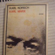 Libros de segunda mano: KORSCH, KARL - KARL MARX. Lote 97532582