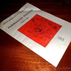 Libros de segunda mano - FORMACIÓN POLÍTICA. QUINTO CURSO. SECCIÓN FEMENINA DE FET Y DE LAS JONS. MADRID (1955) - 45758459