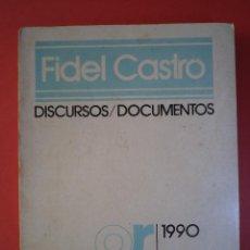 Libros de segunda mano: DISCURSOS / DOCUMENTOS. AÑO 1990 1 SEMESTRE ENERO-JUNIO. FIDEL CASTRO. EDITORA POLÍTICA, LA HABANA.. Lote 45887175