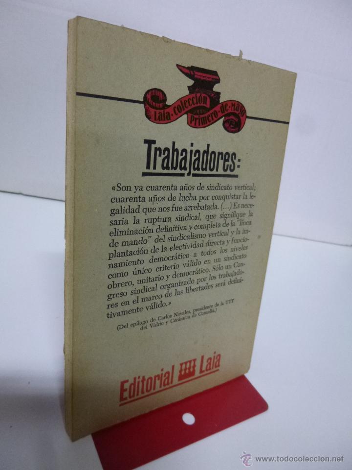 Libros de segunda mano: CUARENTA AÑOS DE SINDICATO VERTICAL. APROXIMACIÓN A LA ORGANIZACIÓN SINDICAL ESPAÑOLA (MANUEL LUDEVI - Foto 2 - 107665496
