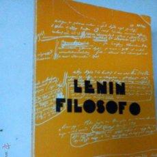 Libros de segunda mano: LENIN FILOSOFO, ANTON PANNEKOEK, MARX BS 2. Lote 46443527