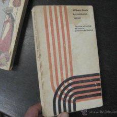 Libros de segunda mano: LA REVOLUCION SEXUAL , WILHEIM REICH, PSICOLOGIA BS1. Lote 47197878