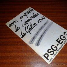 Gebrauchte Bücher - FOLLETO UNHA PROPOSTA DE ESQUERDAS DA GALIZA NOVA. PSG-EG. (1985) - 47310205