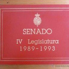 Libros de segunda mano: SENADO IV LEGISLATURA 1989-1993 SEC.GENERAL DEL SENADO. 1992 174 PAG.. Lote 47870705