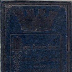 Libros de segunda mano: RENOVACION BIENAL DE LOS AYUNTAMIENTOS - D.RAFAEL GUTIERREZ JIMENEZ. Lote 48278848