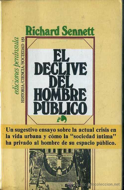 Resultado de imagen para El declive del hombre público.