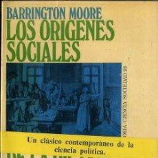 Libros de segunda mano: BARRINGTON MOORE : LOS ORÍGENES SOCIALES DE LA DICTADURA Y DE LA DEMOCRACIA (PENÍNSULA, 1973). Lote 87143215