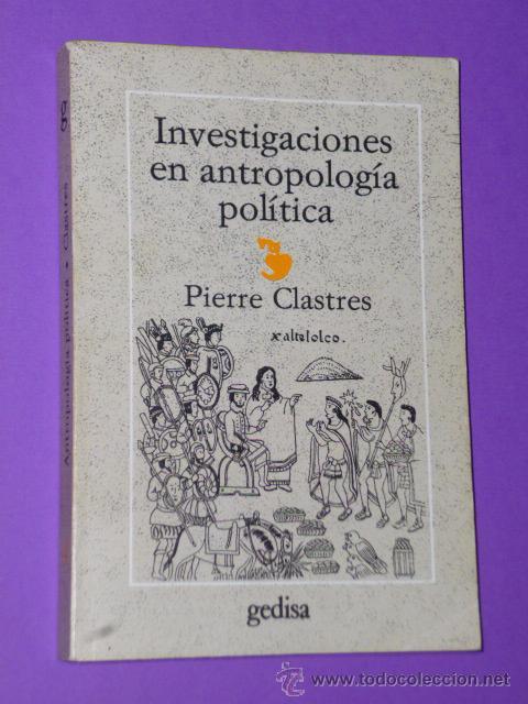 INVESTIGACIONES ANTROPOLOGIA POLITICA (Libros de Segunda Mano - Pensamiento - Política)