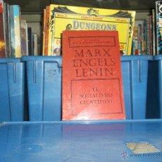 Libros de segunda mano: MARX ENGELS LENIN / EL SOCIALISMO CIENTIFICO -ED. PRENSA NOVOSTI 1974. Lote 48981956